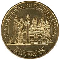 26-1753 - JETON TOURISTIQUE MDP - Palais Idéal Du Facteur Cheval - 2014.3 - 2014