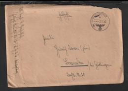 German Feldpost WW2: Regimentsstab Feld-Regiment Der Luftwaffe 14 FP L37676 LGPA Königsberg Posted - WW2 (II Guerra Mundial)