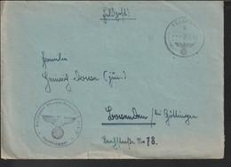 German Feldpost WW2: Regimentsstab Feld-Regiment Der Luftwaffe 14 FP L37676 LGPA Königsberg Poste - WW2 (II Guerra Mundial)