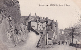 FR-19: UZERCHE: Avenue De Tayac - Animation - Uzerche