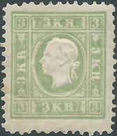 AUSTRIA-L'AUTRICHE-ÖSTERREICH,1859 Emperor Franz Josef I - Embossed,3Kr (REPRINT) !!! - Ongebruikt