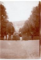 MONACO -- MONTE CARLO -- Photo Tirage Albuminé - Vintage Albumen Print Place Du Casino De Monte Carlo Circa 1931 - Lieux