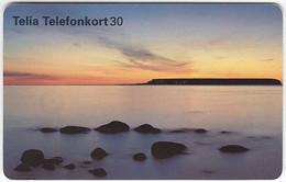 SWEDEN A-956 Chip Telia - Landscape, Coast - Used - Sweden