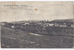 Castelleone Di Suasa (Ancona) Panorama 1919 - - Otras Ciudades