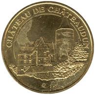 28-1199 - JETON TOURISTIQUE MDP - Château De Châteaudun - 2015.3 - 2015