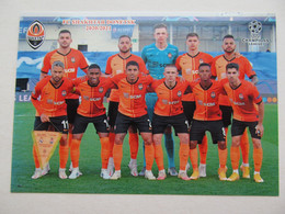 Shakhtar Donetsk In Champions League 2020-21 - Soccer