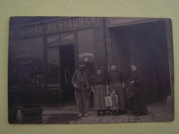 RESTAURANT MOLIMARD. CARTE PHOTO A LOCALISER. - Restaurantes