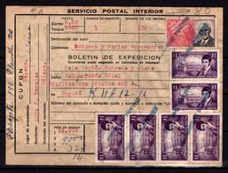 Colombie Colombia Bulletin D'expedition Pour Colis Postaux - Colombie