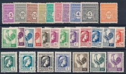 EC-260: FRANCE: Lot Avec Séries 620/629** Et 630/648** - Unused Stamps