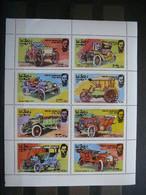 Autos Cars Automobile Voitures # Oman 1976 MNH # - Auto's