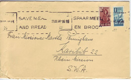 SÜDAFRIKA   SOUTH AFRICA  Brief  Cover 1946 To South West Africa  Slogan Cancel - Lettres & Documents