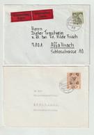 Bundesrepublik Deutschland - 6 Briefe (1183-30) - Covers