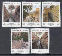 2019 Oman UNESCO Aflaj Irrigation Complete Set Of 5 MNH - Oman