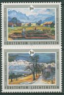Liechtenstein 2006 Gemälde Maler Eugen Schüepp 1405/06 Postfrisch - Ongebruikt