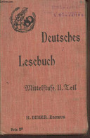 Deutsches Lesebuch : Mittelftufe II Leil - Meneau F., Wolfromm A., Lorber Th. - 1912 - Sonstige