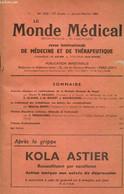 Le Monde Médical, 73e Année, N°1022 (janvier-février 1963) : Aspects Cliniques Et Radiologiques De La Maladie Osseuse De - Sciences
