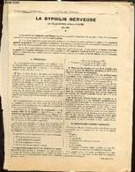"""Lot De 4 Articles Parus Dans La """"Gazette Des Hôpitaux"""" Et La """"Gazette Médicale De France"""" - M. De Pontville, P. Camuset, - Sciences"""