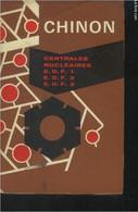 Chinon : Centrales Nucléaires E.D.F.1. ,E.D.F 2, E.D.F.3 - Collectif - 0 - Sciences