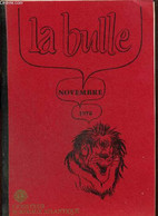 La Bulle (novembre 1978) : - Brionnet Roger & Collectif - 1978 - Frans