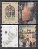 2019 Oman Message Of Islam Complete Set Of 4 MNH - Oman