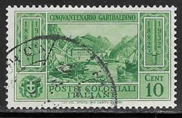 Italian Colonies Scott # 13 Used Garibaldi, 1932 - General Issues
