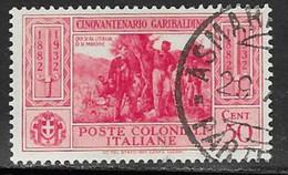 Italian Colonies Scott # 17 Used Garibaldi, 1932 - General Issues