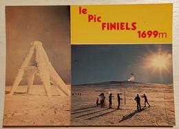 810/CPM - 48 Le Pic Finiels - Signal Géodésique Du Pic Finiels - Altri Comuni