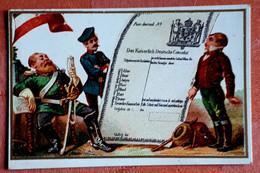 OUDE CHROMOLITHO Simili LIEBIG /   Impr. WALLAYS Nisse A ROUBAIX +- 1890 / Ed. HIGH LIFE TAILOR Paris - Other