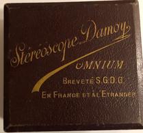Stéréoscope Damoy OMNIUM BREVETÉ S.G.D.G. En FRANCE ET À L'ÉTRANGER —100 Cartes Postales - Vues Stéréoscopies Julien Dam - Sonstige
