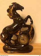 Statuetta Cavallo Con Orologio - Altri