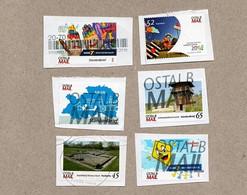BRD - Privatpost - OSTALB Mail - Lot Von 6  Motiven (Radio 7, AAlen,  Limes Lorch, Landesgartenschau, Kasteldorf) - Privatpost