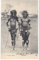 1918 Kavirando Warriors Victoria Postcard From Entebbe - Mombasa - Berlin (28624 - Unclassified