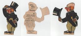 Santal Monal Paris * Carton Publicitaire Mecanique (avec Mouvement) * Vintage Advertising Mechanical Card - Advertising