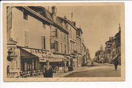 Carte De BOURG EN BRESSE Boulevard De Brou ( Nom Du Policier En Fonction SABRON ) ( Recto Verso ) - Autres
