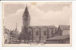 Carte De BULLY L'église  ( Recto Verso ) - Autres Communes