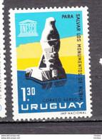 Uruguay, Unesco, égyptologie, Egyptology, Antiquité, Antiquity, Monuments De Nubie, Nubia Monuments - Egiptología