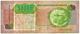 Angola - 50 000 Kwanzas - 04.02.1991 - Pick 132 - Sign. 18 - Série GB - José Eduardo Dos Santos E Agostinho Neto 50000 - Angola