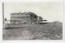 CPSM 94 ORLY Aérodrome D' ORLY VILLENEUVE Les Baptêmes De L'Air Pub MOBILOIL N° 357 A Ed. GODNEFF Aubervilliers - Orly