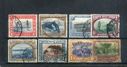 Afrique Du Sud-Ouest 1931 Yt 103-109 111 - Africa Del Sud-Ovest (1923-1990)