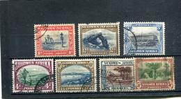 Afrique Du Sud-Ouest 1931 Yt 115-120 123 - África Del Sudoeste (1923-1990)