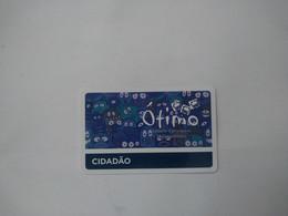 Brazil Transport Cards, (1pcs) - Non Classificati