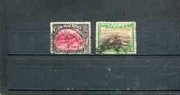 Afrique Du Sud-Ouest 1931 Yt 110 112 - Africa Del Sud-Ovest (1923-1990)