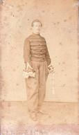 Militaire Soldat Belge Photo CDV Années 1860 Par  DE GROODT De Bruxelles - Oud (voor 1900)