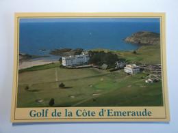 Entre SAINT BRIAC Et SAINT LUNAIRE Le Golf De La Cote D'Emeraude - Saint-Lunaire