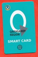 Kazakhstan 2020. Multiple Bus Travel Card. City Karaganda. Plastic. - Wereld