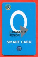 Kazakhstan 2020. Multiple Bus Travel Card For Schoolchildren. City Karaganda. Plastic. - Wereld