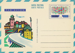 Poland Postcard Cp 247: Philatelic Exhibition 1964 Bridge - Entiers Postaux