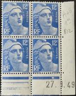 812 Marianne De Gandon CD 27.1.49 ** - 1940-1949