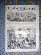 LE MONDE ILLUSTRE 03/05/1873 ESPAGNE CONTRERAS CADIX VIENNE TYPES GRABEN PARIS BIEVRE EDUCATION MILITAIRE LYCEE - 1850 - 1899