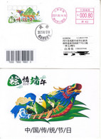 China 2021 The Dragon Boat Festival  Postage Stamp Entired Commemorative Card - Enveloppes